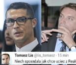 """Tomasz Lis przeprasza, że kazał """"SPIE*DALAĆ"""" Cristiano Ronaldo: """"Wiadomość miała być prywatna!"""""""