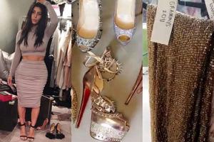 Kim Kardashian ma archiwum swoich sukienek i butów dla North! (FOTO)