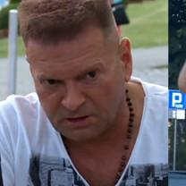 """Żebraczka atakuje auto Rutkowskiego: """"Wywieś blachę i ją wyprowadź!"""""""