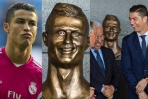 Tak wygląda nowy pomnik Cristiano Ronaldo... Poznajecie? (ZDJĘCIA)