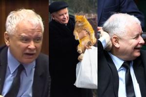 """Kaczyński o protestach pod jego domem: """"ATAK ODPARŁ MÓJ KOT"""""""