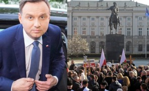 Pierwszą decyzją prezydenta Dudy będzie... pomnik smoleński na Krakowskim Przedmieściu?