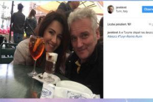 Jarosław Kret i Beata Tadla na urlopie