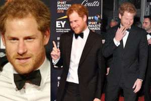 Zarośnięty książę Harry na gali z niepełnosprawnymi weteranami (ZDJĘCIA)
