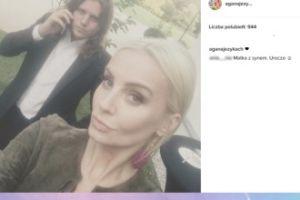 """Fanka o nowym selfie Szulim: """"Matka z synem"""""""