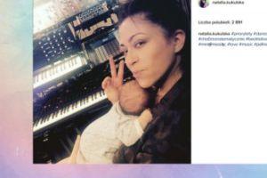 Natalia Kukulska pozuje z córeczką