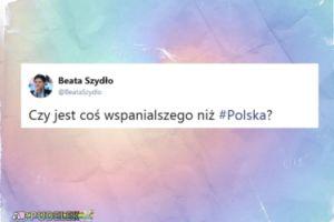 """Beata Szydło pyta: """"Czy jest coś wspanialszego niż Polska?"""""""