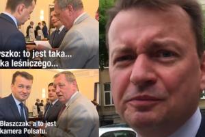 """Dziennikarze WP pytają Błaszczaka o """"córkę leśniczego"""": """"Do takich mediów nie zamierzam się wypowiadać!"""""""
