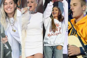 Koncert dla ofiar zamachu w Manchesterze: Ariana, Miley, Katy, Justin... (ZDJĘCIA)