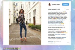 Marcelina Zawadzka chwali się PUPĄ w obcisłych dżinsach (FOTO)