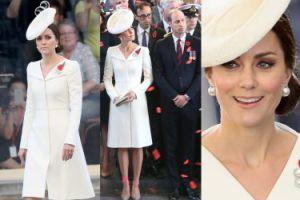 Księżna Kate w sukience z chrzcin Charlotte z Williamem w Belgii (ZDJĘCIA)