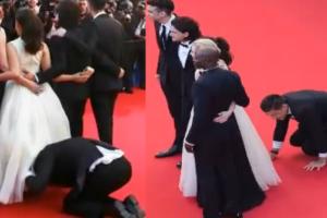 SKANDAL na czerwonym dywanie w Cannes!