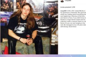 Nergal wspomina młodość