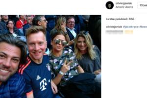 Lewandowska, Janiak i Wesołowski kibicują Robertowi