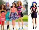 Barbie dostała trzy nowe ciała! Ikoniczna lalka ma krągłości (ZDJĘCIA)