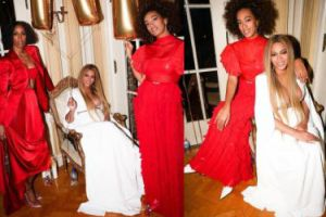 Beyonce na afterparty po rozdaniu Grammy (GALERIA)
