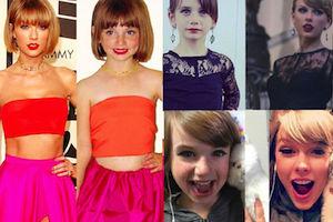 6-latka odtwarza sesje zdjęciowe Taylor Swift (ZDJĘCIA)