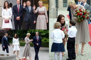 Andrzej Duda z żoną witają Williama i Kate! (ZDJĘCIA)