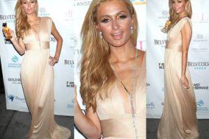 Opalona Paris Hilton promuje perfumy (ZDJĘCIA)