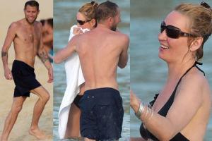46-letnia Uma Thurman W BIKINI flirtuje na plaży z nowym facetem (ZDJĘCIA)