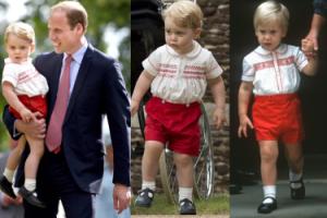 Mały książę Jerzy jak William... 30 lat temu! (FOTO)