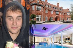 Justin Bieber przeprowadza się do Londynu! Wynajął posiadłość... z 15 sypialniami! (ZDJĘCIA)