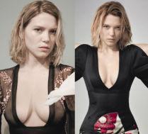 Nowa dziewczyna Bonda rozbiera się we francuskim magazynie!