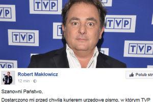 """Kurski wyrzucił Roberta Makłowicza z TVP! """"Absmak gorszy, niźli po konsumpcji płucek w barze dworcowym za Gomułki"""""""