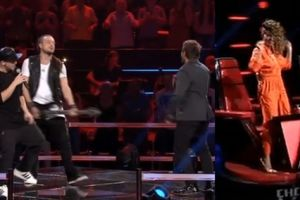 "Baron, Tomson i Piasek na scenie ""The Voice of Poland""!"