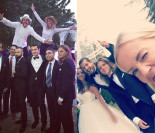 Woźniak-Starak pokazał zdjęcia ze ślubu.