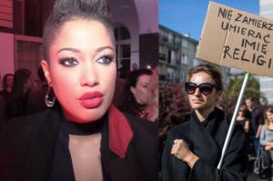 """Kazadi: """"Totalnie popieram Czarny protest. Kobiety powinny mieć wolność wyboru"""""""