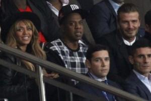 Beyonce, Jay-Z i David Beckham razem na meczu! (FOTO)