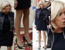 Nogi 64-letniej Brigitte Macron promują igrzyska olimpijskie w Paryżu (ZDJĘCIA)