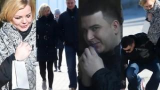 """Misiewicz na romantycznym spacerze Z DZIEWCZYNĄ! """"To miłość od pierwszego wejrzenia"""" (ZDJĘCIA)"""