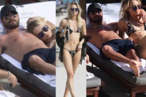 Ojciec dzieci Kourtney Kardashian przyłapany z kochanką w basenie! (ZDJĘCIA)