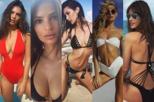 Ratajkowski, Hadid i Ambrosio chwalą się wakacjami na Bahamach (ZDJĘCIA)
