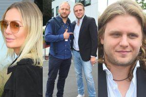 Borys Szyc pozuje w Gdyni… z mężem Szulim (ZDJĘCIA)