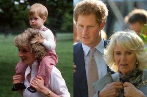 Książę Harry nie mówił o śmierci Diany, bo bał się Camilli? Przerywa milczenie po 19 latach...