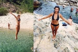 Popek znów chwali się ciałem w bikini! (FOTO)