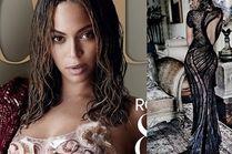 Beyonce z ciemnymi, mokrymi włosami w nowej sesji!