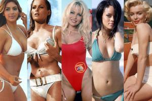 Brytyjczycy wybrali królową bikini wszech czasów (ZDJĘCIA)