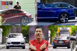 Robert Lewandowski lansuje się w autach za prawie 3 i pół miliona złotych! (ZDJĘCIA)