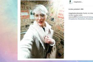 Magda Steczkowska pozuje w windzie (FOTO)