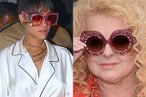 """Celebrytki w """"biżuteryjnych"""" okularach"""