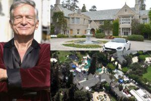 """Hugh Hefner sprzedał """"Dom Playboya"""" za 200 milionów dolarów! (ZDJĘCIA)"""