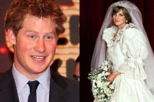 Księżna Diana zapisała w spadku Harry'emu... swoją suknię ślubną!