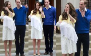 Księżna Kate POKAZAŁA SIĘ Z CÓRKĄ przed szpitalem! (ZDJĘCIA)