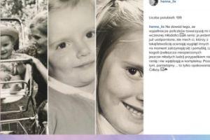 Hanna Lis na fotkach z dzieciństwa