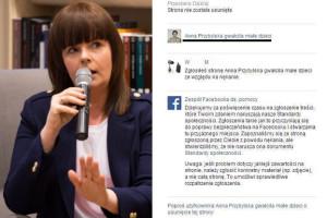 """Piotrowska zgłasza skandaliczne strony o Przybylskiej: """"Facebooku, JESTEŚ Z DUPY!!"""""""