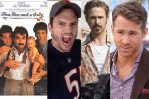 """Kutcher, Reynolds i Gosling w nowej wersji... """"Trzech mężczyzn i dziecka""""?!"""